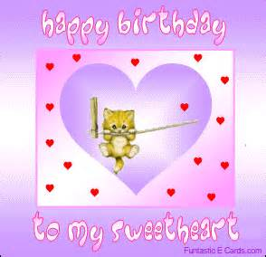 free birthday cards sweetheart e cards