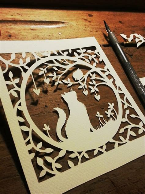 50 Easy Paper Cutting Crafts - pets paper panda totally templates