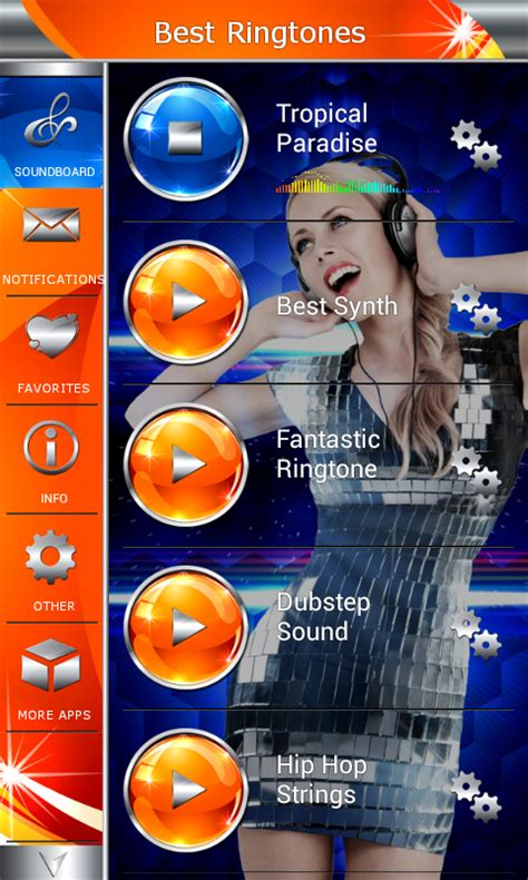 best ringtones for android best ringtones new free android app android freeware
