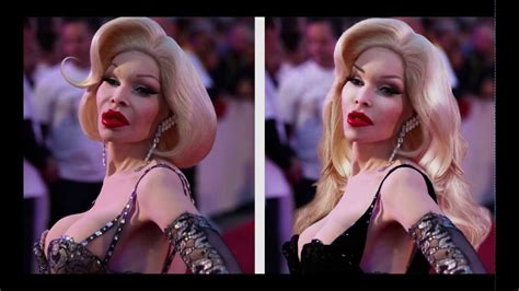 Amanda Lepore Dabblin In Acting Again by Photoshop Makeover Amanda Lepore