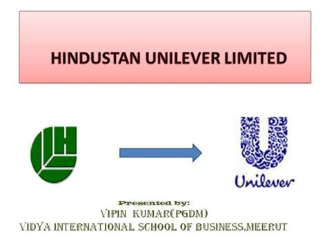 Hul Ppt Authorstream Unilever Ppt Template Free