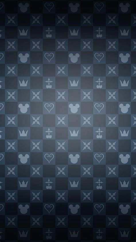 Kingdom Hearts Symbols Wallpaper