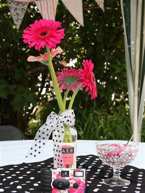 table centerpieces for graduation parties table