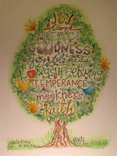 fruit of the spirit tree fruits of the spirit vbs fair