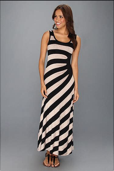 Maxy Stripe sleeveless maxi dress s fashion