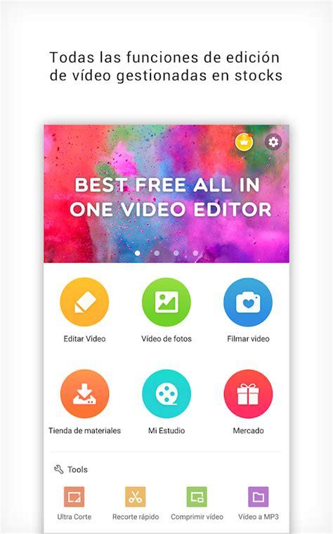 aplicacion cortar videos editor de videos cortar video aplicaciones android en