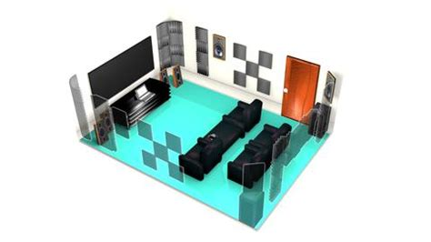 home theater acoustic treatment diy acoustic foam