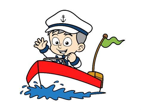 barco dibujo dibujo de barco y capit 225 n pintado por en dibujos net el