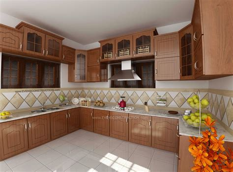 kerala home design tiles modular kitchen by kerala home design amazing