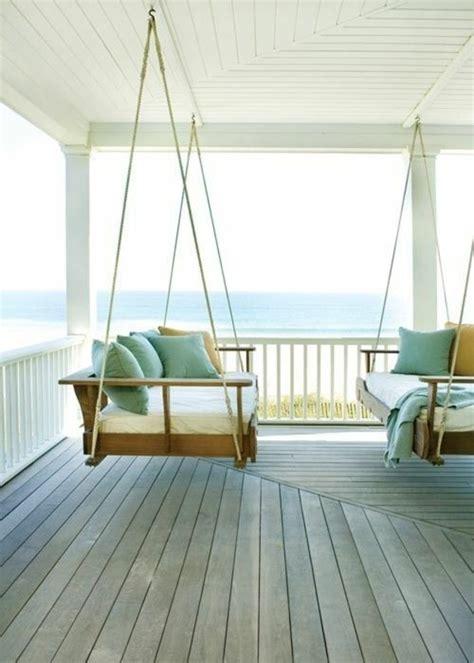 balkon hängeschaukel terrasse einrichten bereiten sie ihren au 223 enbereich auf