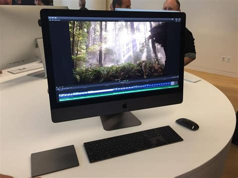 final cut pro imac imac pro makes first appearance at final cup pro x