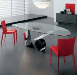 home design glass dining room table