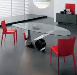 home design glass dining room table unico contemporary rectangular infinity extending glass