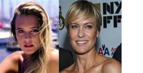 robin wright nose job 79 best then and now images on pinterest celebrity
