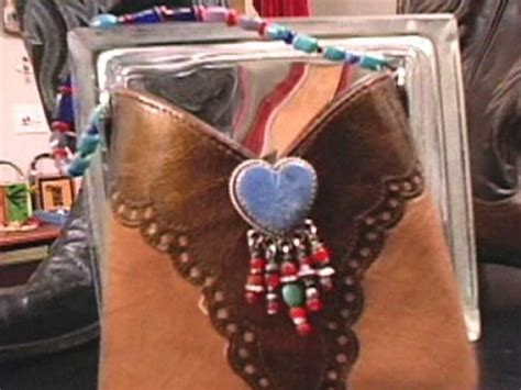 Polyester Upholstery Thread How To Make A Cowboy Boot Purse Hgtv