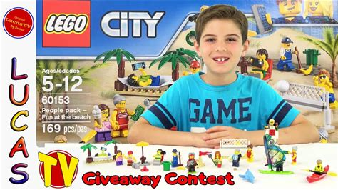 Barang Baru Lego 60153 City At The lego city pack at the 60153 and lego minifigure giveaway contest series 16 and