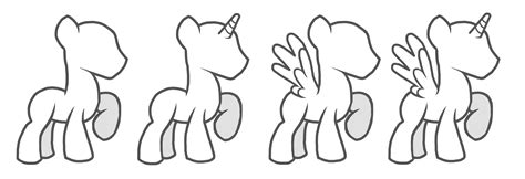 pony oc template mlp fim oc colt poses by theshadowstone on deviantart