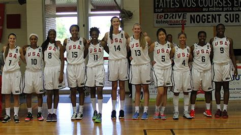 2014 fiba world chionship for women usa fibacom usa women set for opener at 2014 fiba u17 world chionship