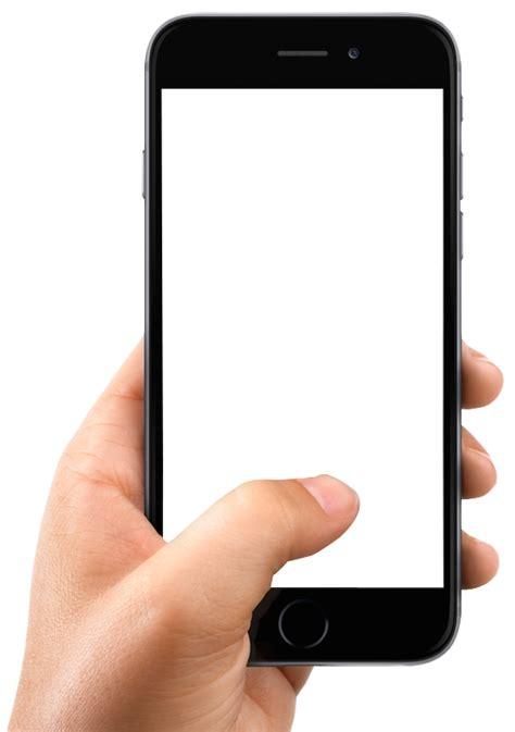 images mobile holding smartphone png image pngpix