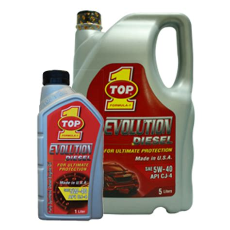 Oli Top1 Evolution Sae 5w 40 Api Sm Fully Synthetic Made In Usa 1liter top 1 evolution 171 top 1