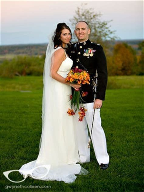 Officers and enlisted marriage licenses