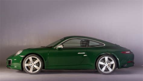 green porsche green porsche 911 s is the one millionth 911