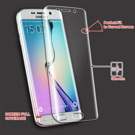 Protector Samsung Galaxy S 6 Edge for samsung galaxy s6 s 6 edge 1 curved screen guard