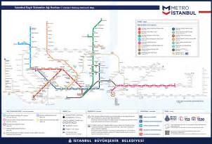 Istanbul Metro Map by Metro Istanbul