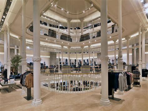 zara home store design zara via del corso flagship store in rome