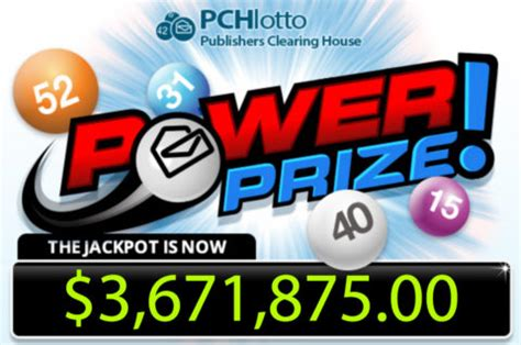 Next Pch Drawing 2017 - the pchlotto powerprize jackpot is over 3 6 million pch blog