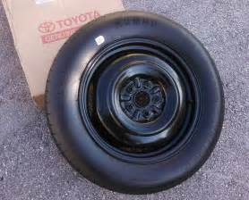 Toyota Tire 2004 2010 Toyota Spare Tire Wheel Donut 17 Quot Spare