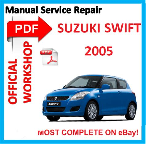 car owners manuals free downloads 2004 suzuki swift security system official workshop manual service repair for suzuki swift rs413 rs415 2005 ebay