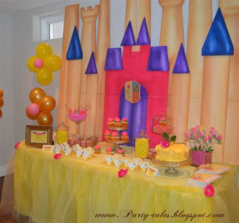 Beauty And The Beast Decorations by Party Tales Birthday Party Beauty And The Beast