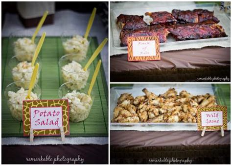 Jungle Theme Baby Shower Food by New Baby Shower Food Ideas Jungle Theme New Baby Shower