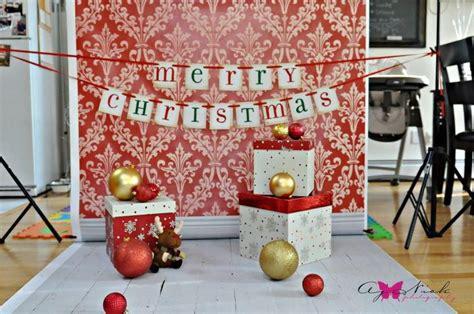 great christmas setup idea holiday mini sessions