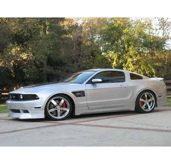 2012 Mustang V8 by Rksport Ford Mustang V8 Mustang Ground Effects 2010 2012