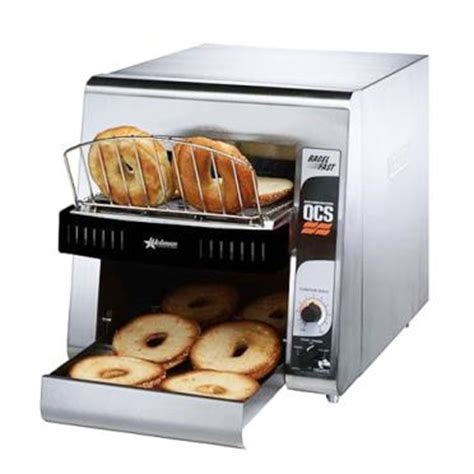 Holman Toaster Holman Qcs1 500b Fast Compact Bagel Conveyor Toaster