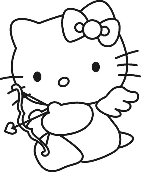 printable coloring pages hello kitty printable coloring pages