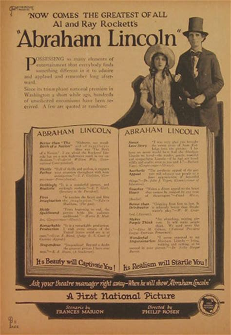 life of abraham lincoln movie abraham lincoln 1924 silent movie ad vintage magazine ads