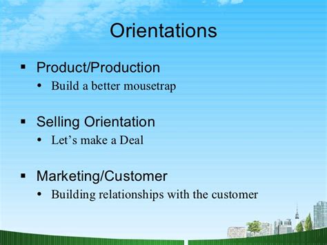 Market Orientation Mba what is marketing ppt mba
