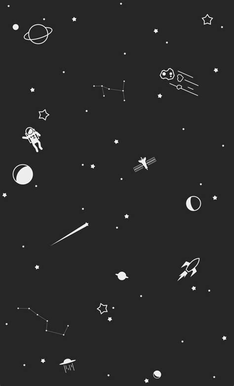 black and white wallpaper iphone 5 outer space print by trae mikal via behance wallpapers