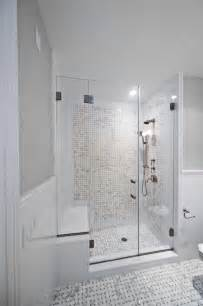 glass doors small bathroom:  tile layout decorating ideas gallery in bathroom beach design ideas