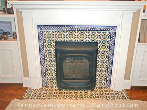 kamin fliesen david s fireplace tile mediterranean living room tel