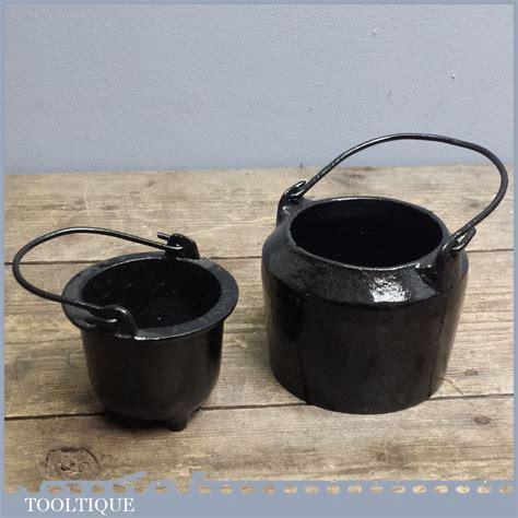Small Pot Vintage T C Clark Co Small Cast Iron Glue Pot