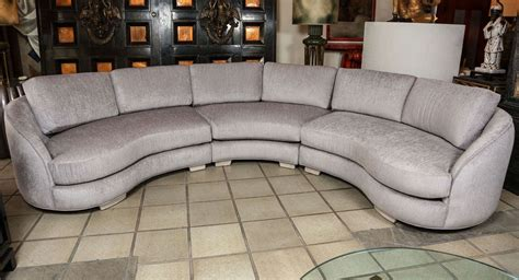 Sectional Sofa Parts Sectional Sofa Parts Beautiful Curved Sectional Sofa In Three Parts At 1stdibs Sectional Sofa
