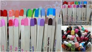 Organize Organise how to organize nail polishes using popsicle sticks youtube