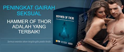 Hammer Of Thor Obat Herbal Tahan Lama obat kuat pria herbal hammer of thor obat kuat perkasa