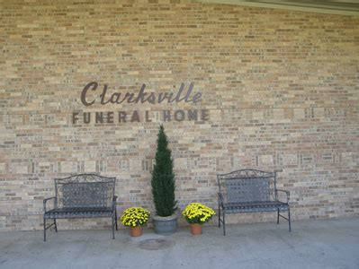 clarksville funeral home river county chamber of
