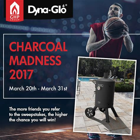 Target Sweepstakes 2017 - dyna glo the charcoal madness 2017 sweepstakes familysavings