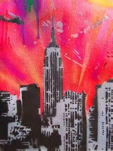Spray Paint City - spray paint stencil graffiti art new york city by thestreetcanvas on deviantart